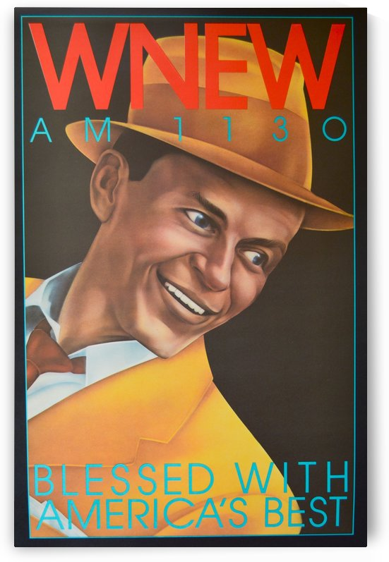 WNEW by VINTAGE POSTER