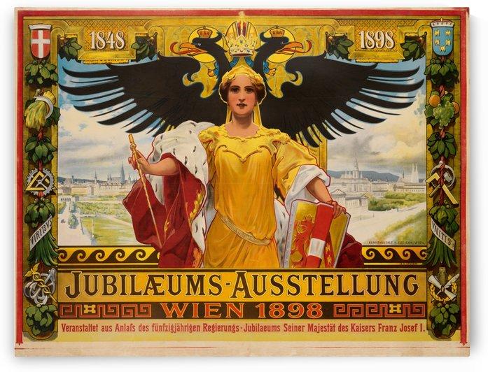 Jubilaeums Austellung Wien 1898 by VINTAGE POSTER