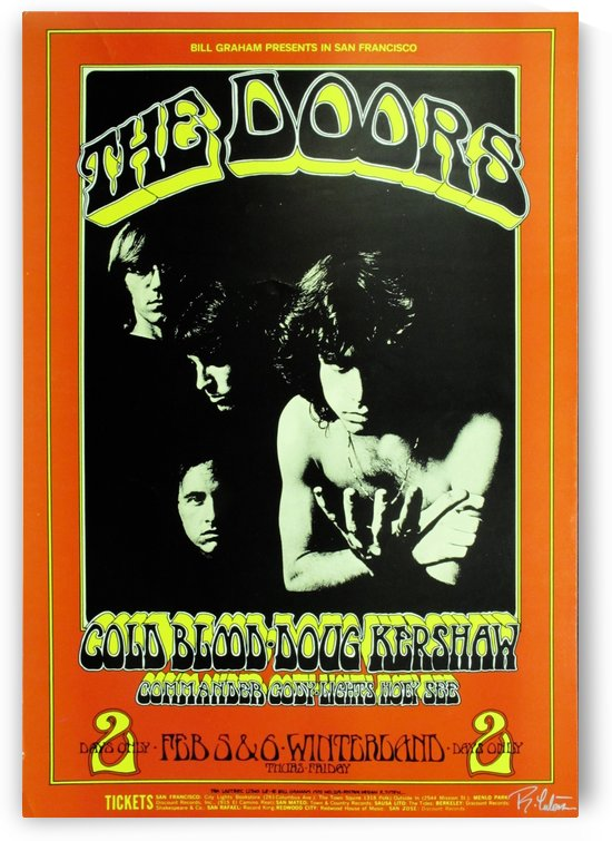 The Doors by VINTAGE POSTER