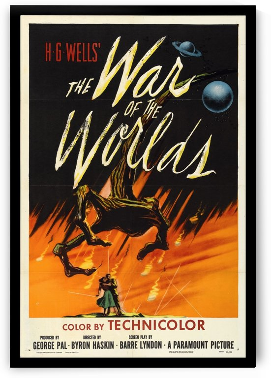 The War of the Worlds by VINTAGE POSTER
