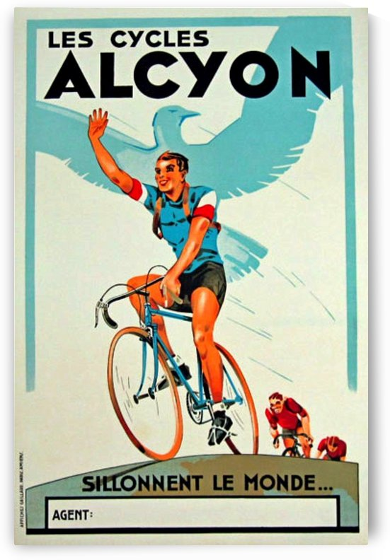 Alcyon Cycles by VINTAGE POSTER