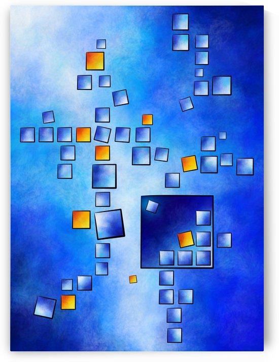 Cublerossia V1 - falling cubes by Cersatti Art