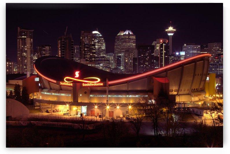 Calgary Skyline by DR Calkiins