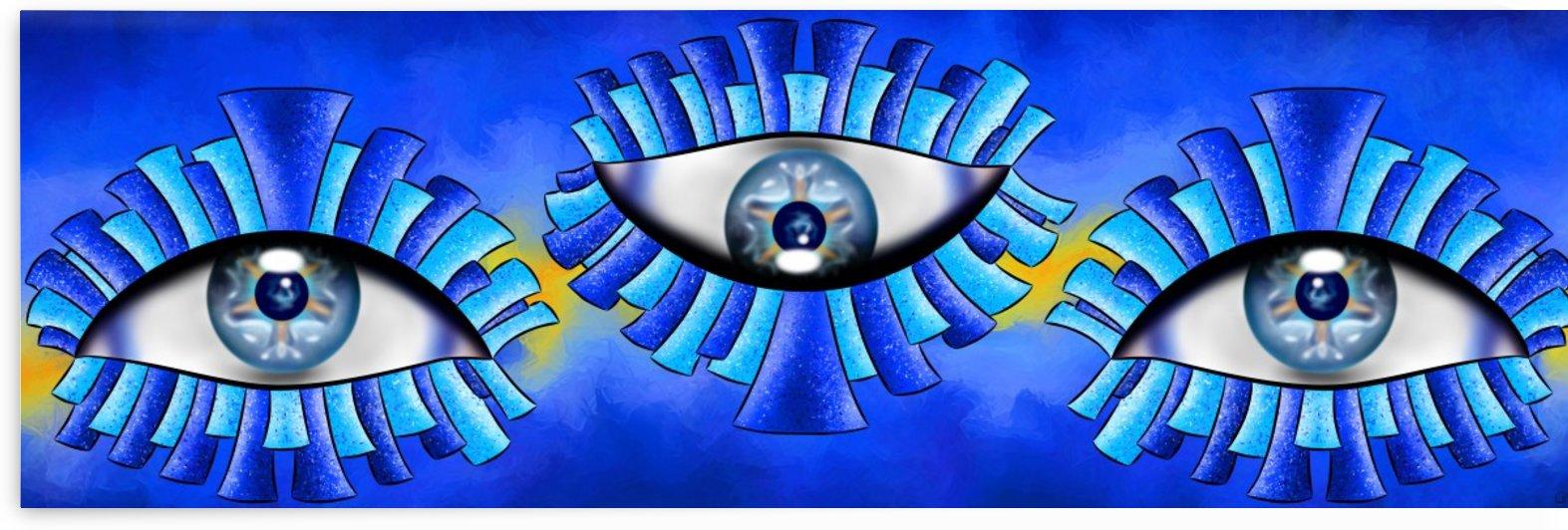 Globellinossa V1 - triple eyes by Cersatti Art
