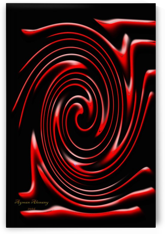 The whirl, W5.2B by Ayman Alenany