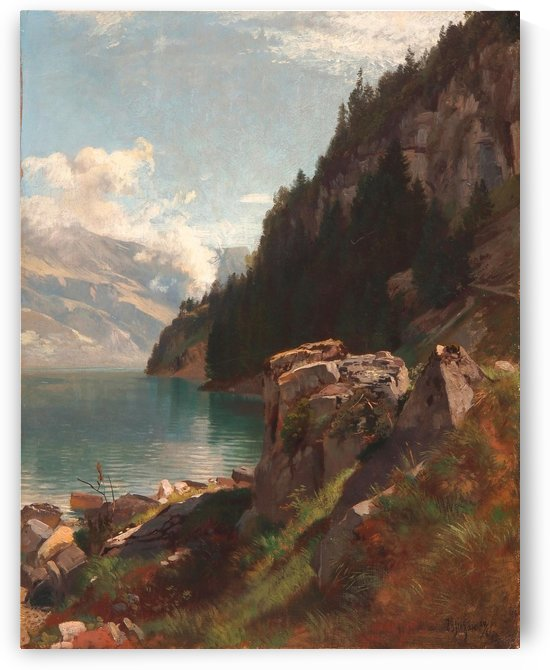 Brienzer See, Bernese Oberland by Johann Gottfried Steffan