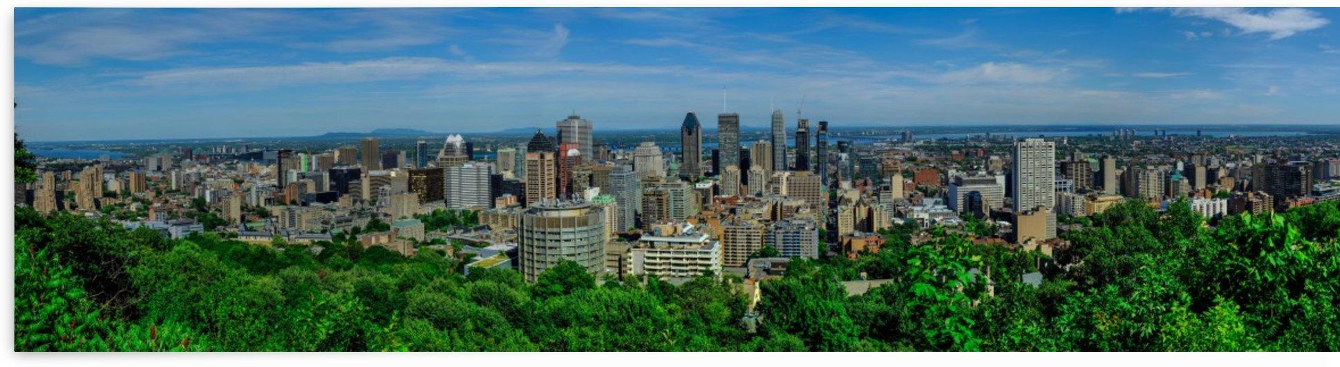 montreal panorama by Ara Samson