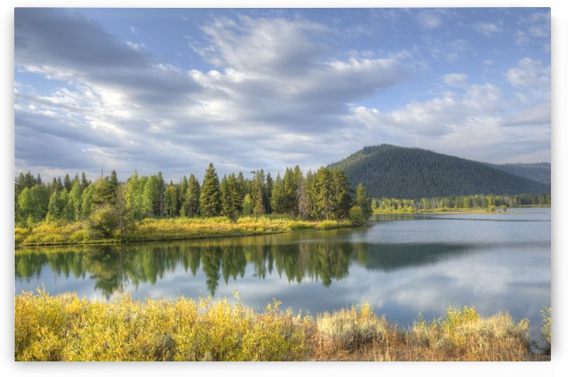Snake River Charm by Dennis Blum