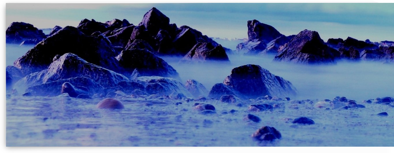 Misty rocks by Andy Jamieson