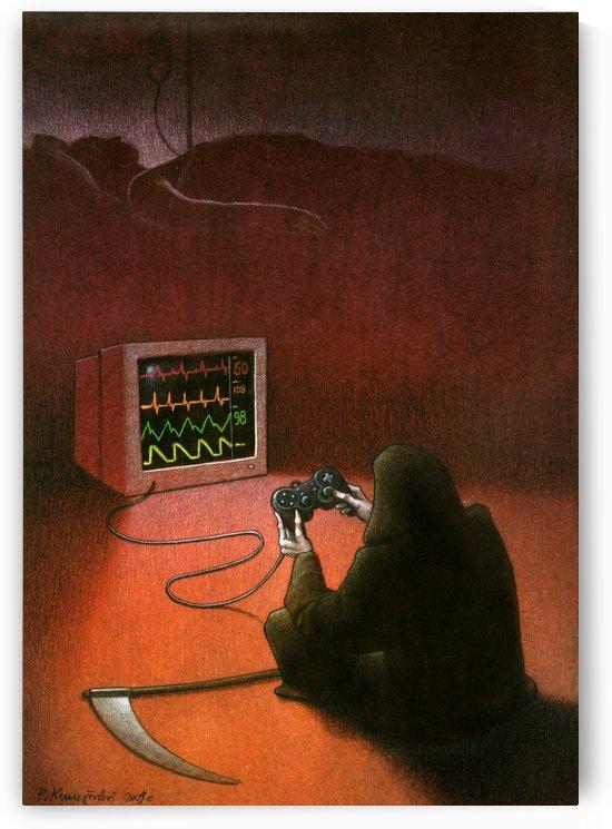 playstation by Pawel Kuczynski