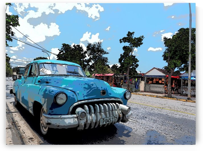 Cuban Taxi by GSPhoto