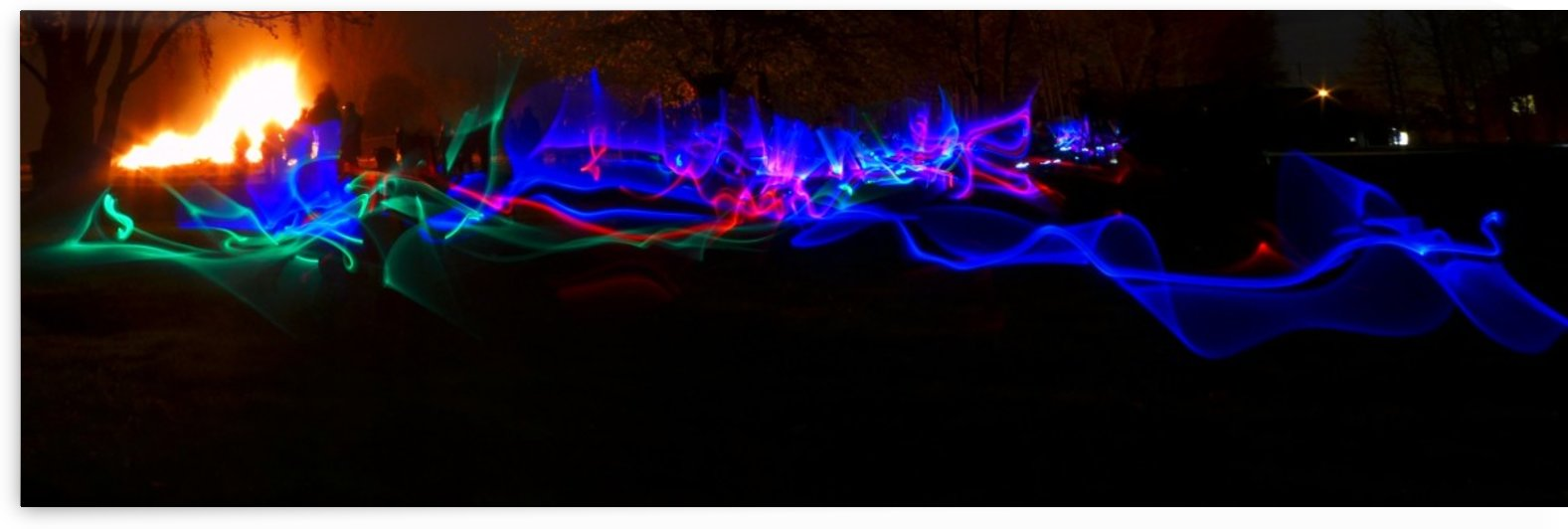 Bonfire lightsabres by Andy Jamieson