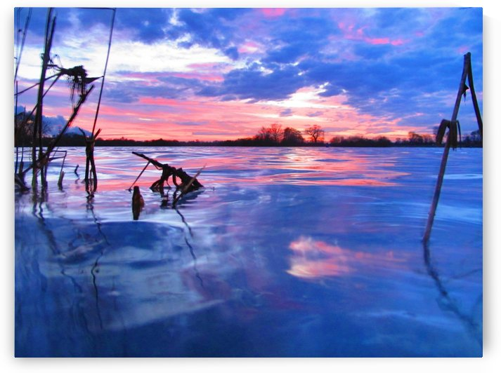 Low winter sunset by Andy Jamieson