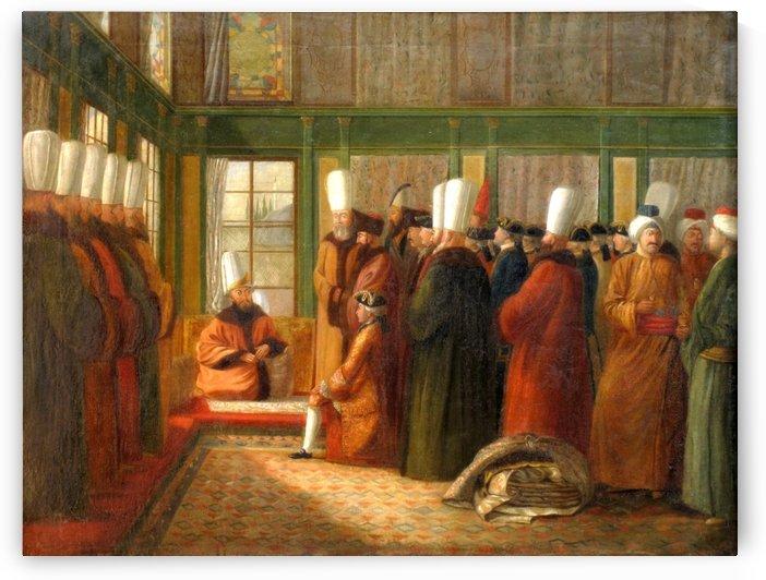 Ambassador of France in Constantinople by Antoine de Favray