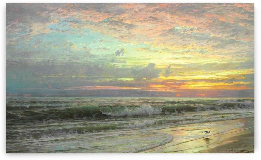 Coastal Landscape, 1901 by William Trost Richards