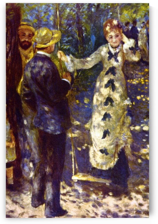 The Swing by Renoir by Renoir