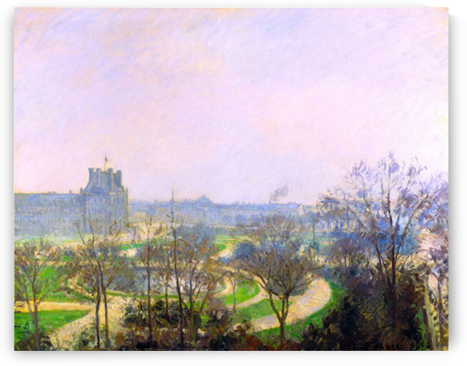 The Tuileries Garden by Pisarro by Pissarro
