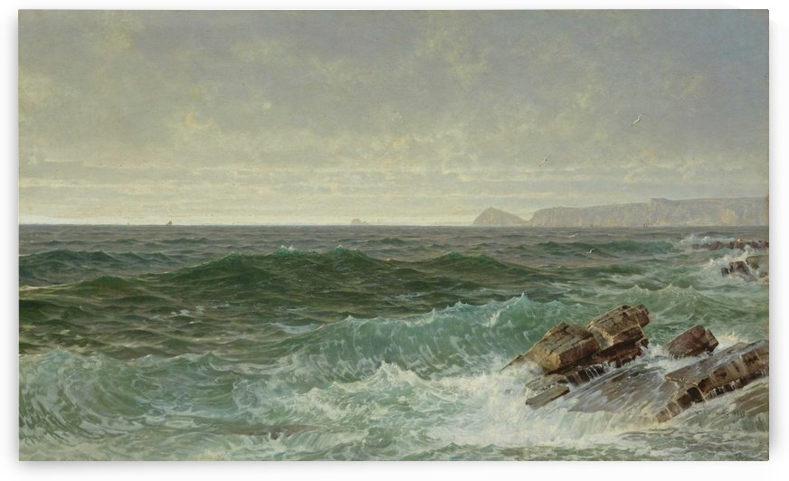 A peaceful morning by William Trost Richards