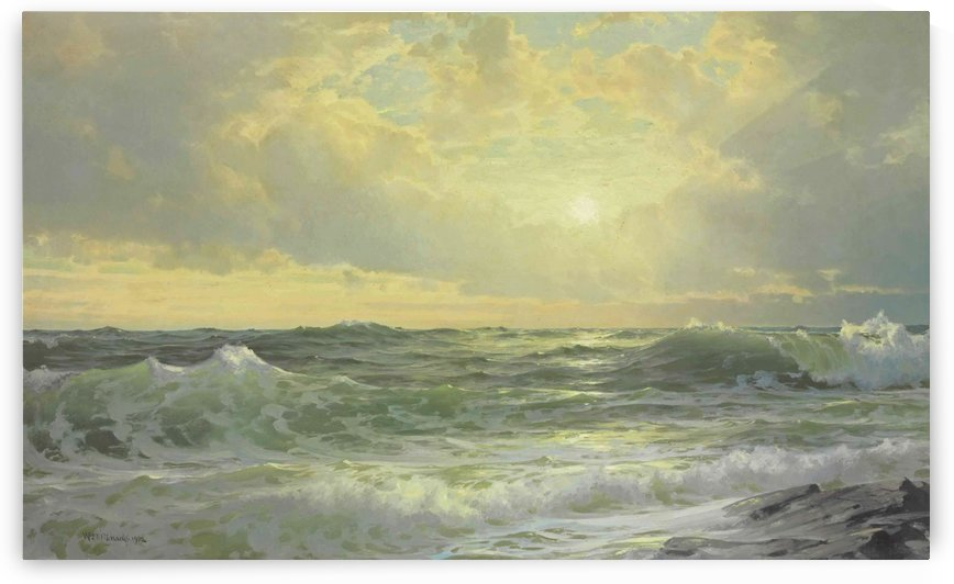 Sunset at Cape Ann, Massachusetts by William Trost Richards