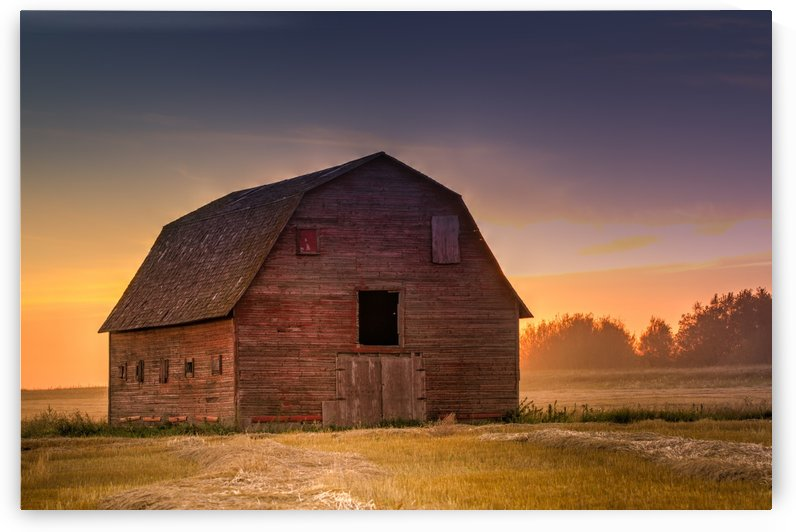 Rickety Barn by DLPSquared