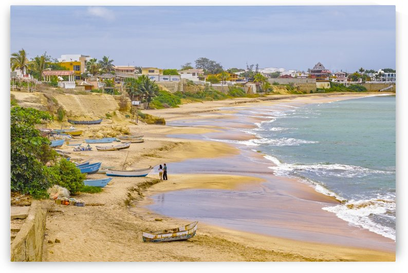 Ballenita Beach Santa Elena Ecuador by Daniel Ferreia Leites Ciccarino