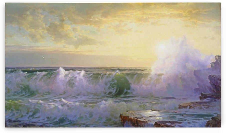 Newport Coast by William Trost Richards