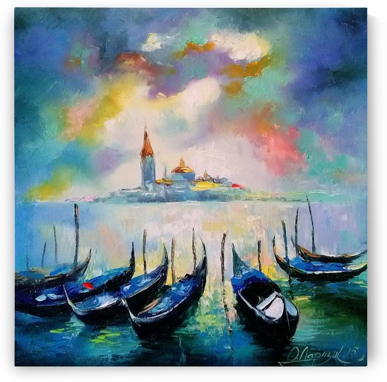 Venice before the rain by Olha Darchuk