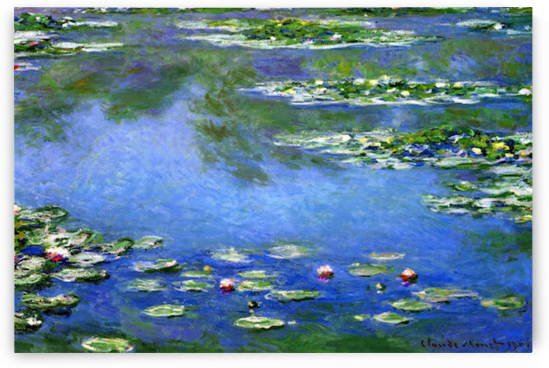 Water Lilies by Monet by Monet