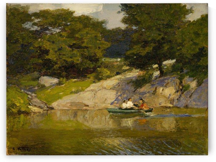 Boating in Central Park by Edward Henry Potthast