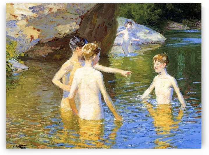 In the Summertime by Edward Henry Potthast
