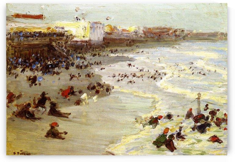 Coney Island by Edward Henry Potthast