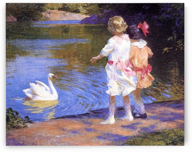 The Swan by Edward Henry Potthast