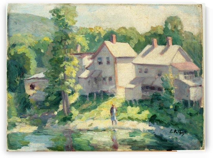 Wading by Edward Henry Potthast