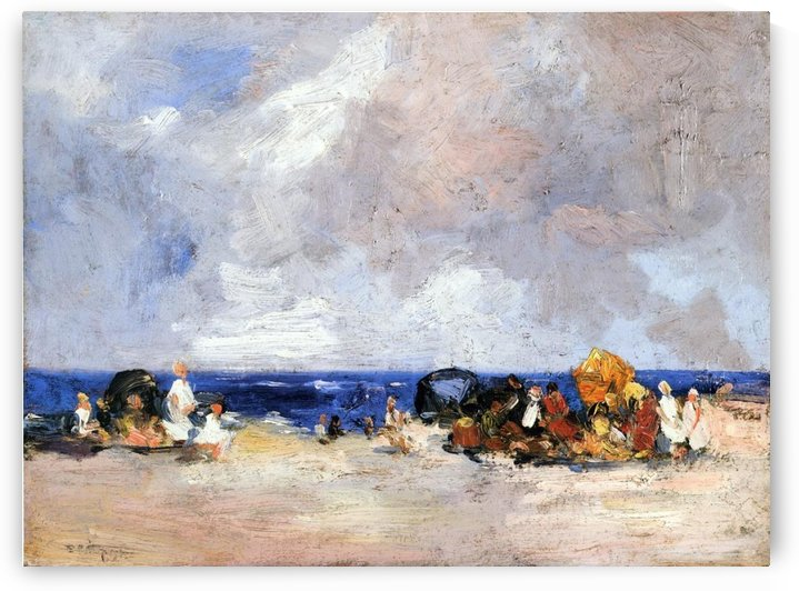 A Day at the Beach by Edward Henry Potthast