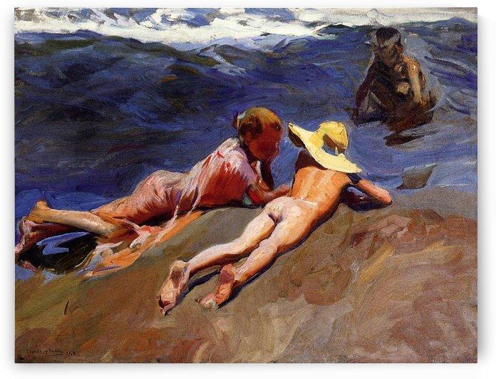 Bathers at Valencia by Edward Henry Potthast