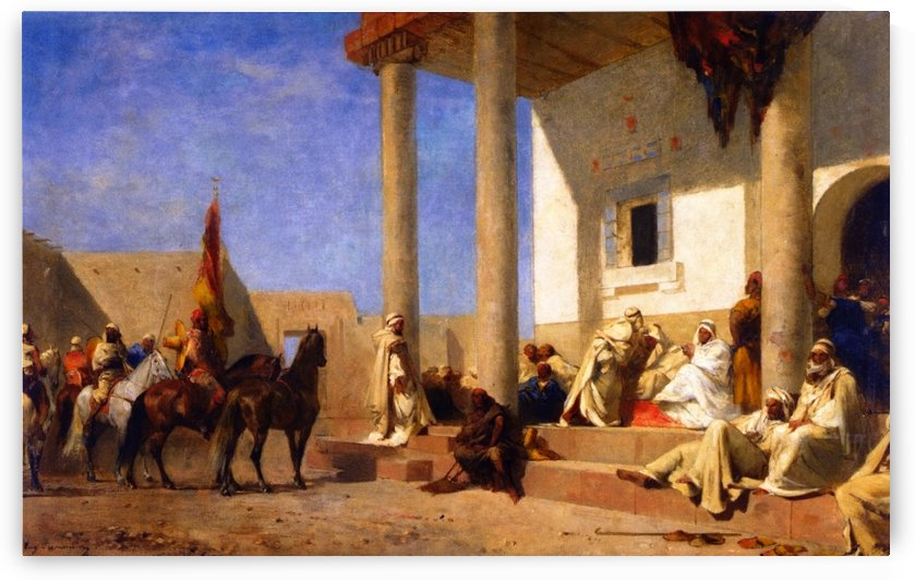 Audience in a Caliphate by Eugene Alexis Girardet