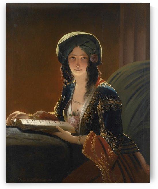 Fatima di Smirne by Ippolito Caffi