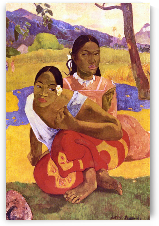 When are you Getting Married by Gauguin by Gauguin