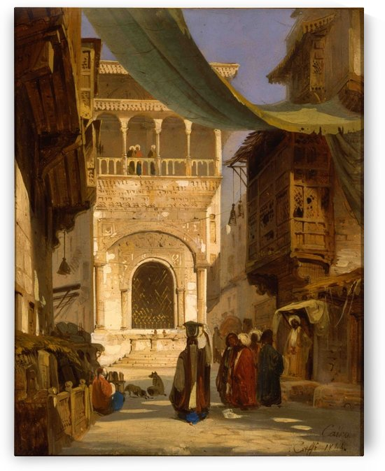 Cairo by Ippolito Caffi