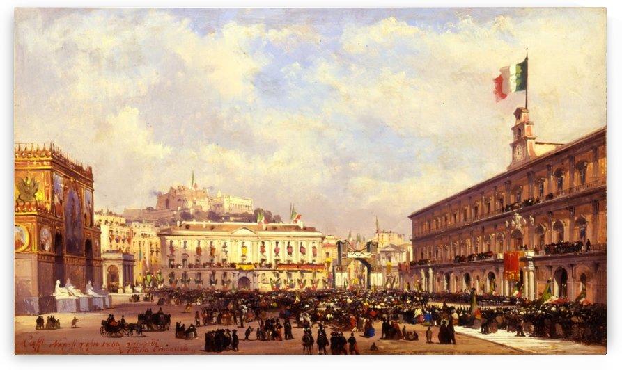 Napoli, 1860 by Ippolito Caffi