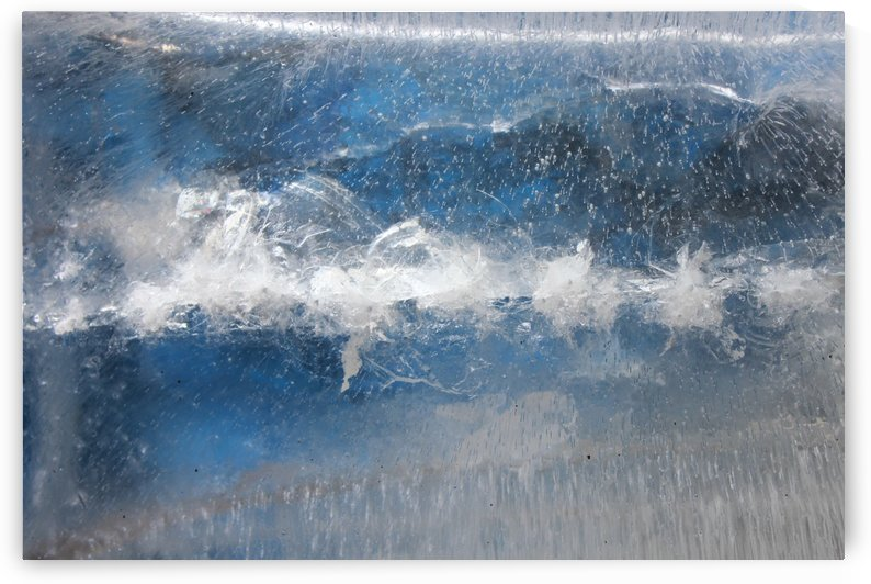 Ice Abstract Icy Frost Frosty Freeze by STOCK PHOTOGRAPHY