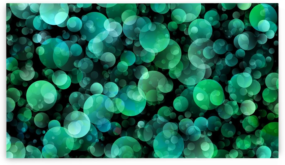 Light Circle Background Points Abstract by STOCK PHOTOGRAPHY