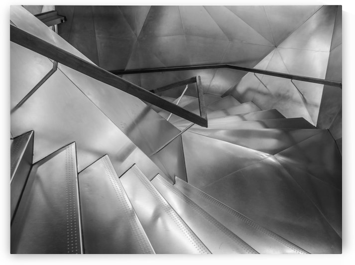 Ladder Art Museum Madrid Creation Arches by STOCK PHOTOGRAPHY
