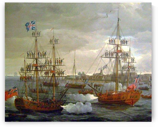 British Tars by John Cleveley the Elder