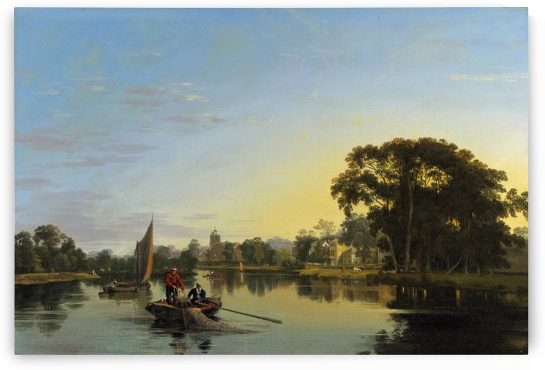 The Thames at Twickenham 1815 by Ebenezer Colls