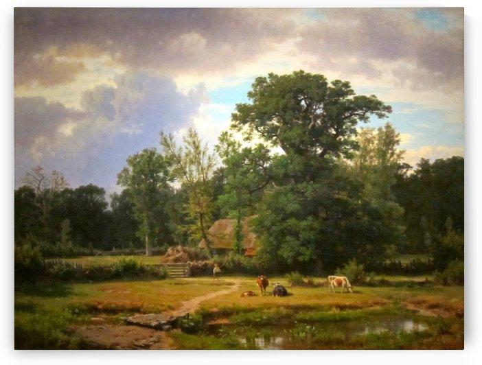 Paesaggio della Westfalia by Thomas Worthington Whittredge