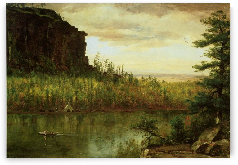 Landscape near Fort Collins by Thomas Worthington Whittredge