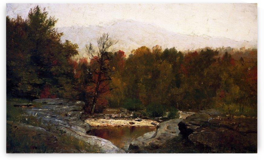 Autumn, Catskill Mountains in the Mist by Thomas Worthington Whittredge