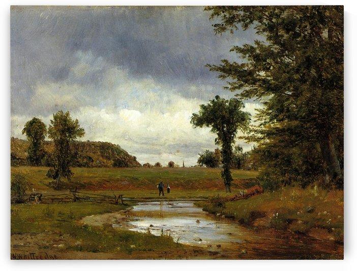 Going to the Village by Thomas Worthington Whittredge