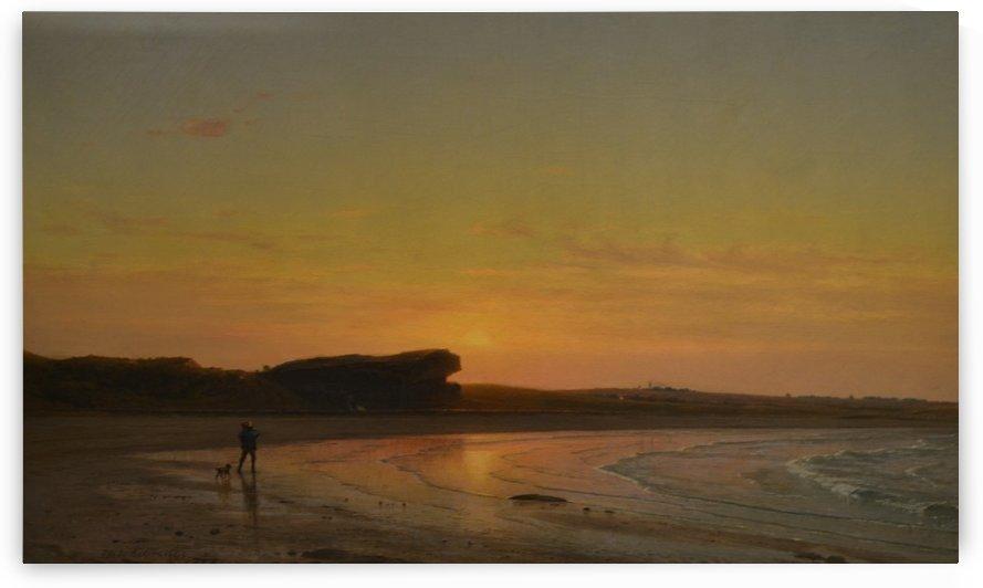 Second Beach Newport by Thomas Worthington Whittredge